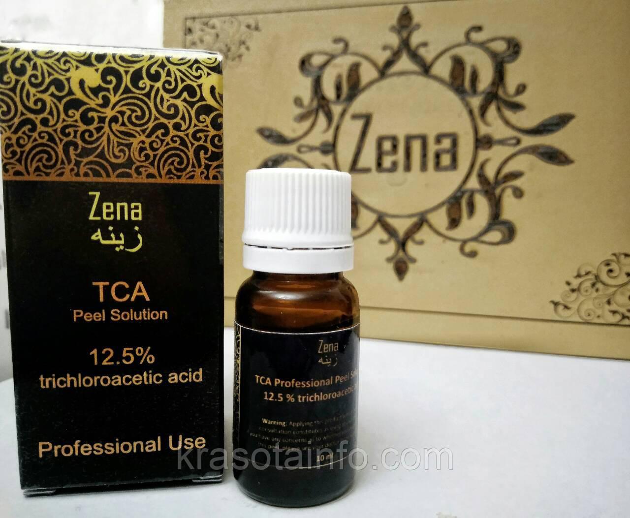 ТСА пилинг 12,5% - Трихлоруксусная кислота, Zena, 10 мл