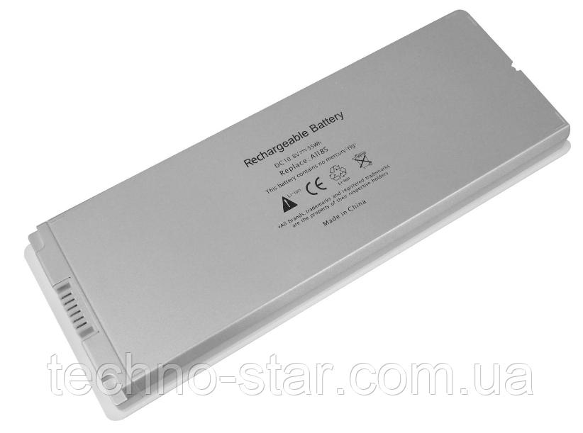 """Аккумулятор Apple A1185 MacBook 13"""" A1181 MA254 MA255 MA472 MA700 MA701 (белый цвет)"""