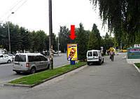 """Аренда Ситилайта г. Ровно, Мира пр-т, возле кафе """"Добрий Шубин"""""""