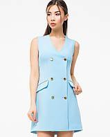 Женское летнее двубортное платье(5989-5988ie)