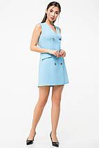 Женское летнее двубортное платье(5989-5988ie), фото 3