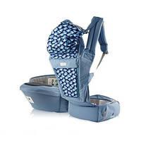 Эрго рюкзак + Хипсит Pognae ORGA Plus голубика, фото 1