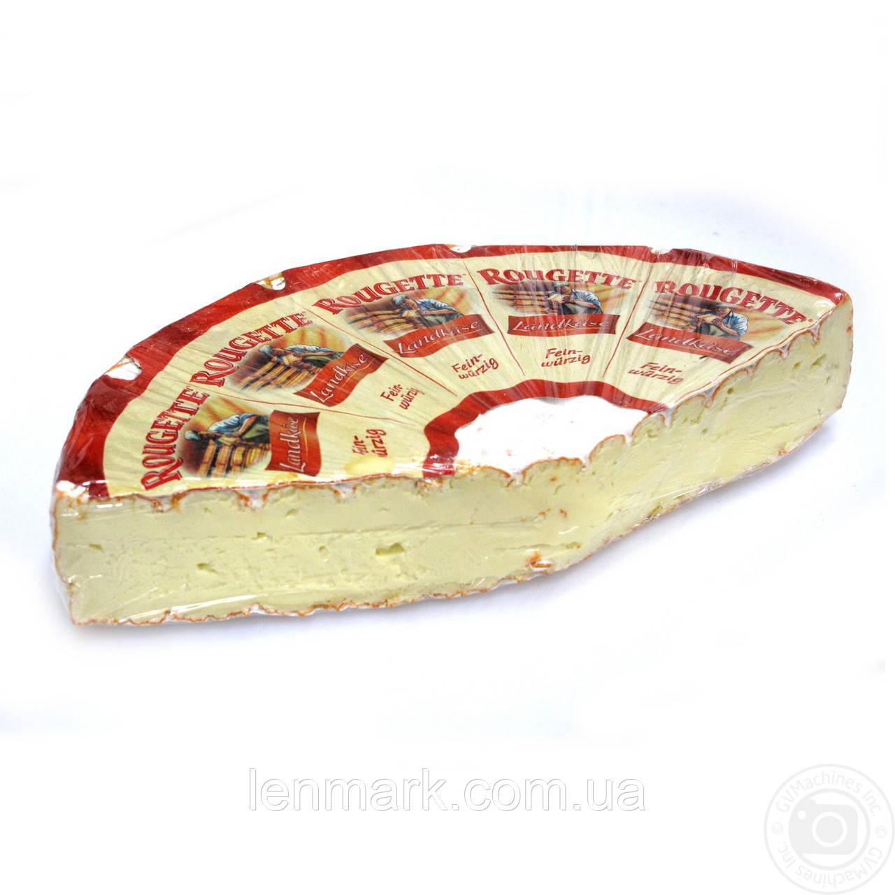 Сыр с красно-белой корочкой Rougette Kaserei Champignon РУЖЕТТ  70%