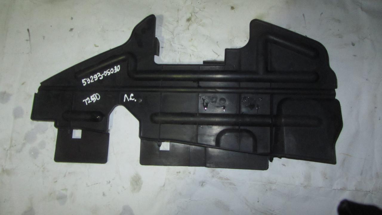 Воздуховод (дефлектор) пластик радиатора правый Toyota Avensis T250 T25 2003-2008 5329305020