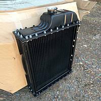 Водяной радиатор охлаждения МТЗ 80, МТЗ 82, Д 240. Медный 4-х рядный, Беларусь