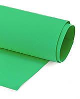 Фоамиран Эва Светло-зеленый 2 мм Турецкий 1x1.5 метра/рулон
