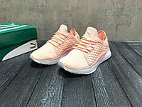 Женские кроссовки Puma розовые