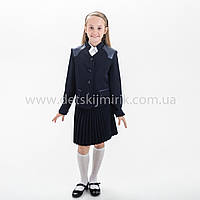 """Школьный костюм тройка  для девочки """"Дарья"""",Новинка 2018 года, фото 1"""