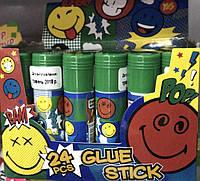 """Клей-олівець """"Yes"""" №320202 8 гр Smiley World blue"""