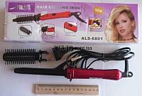 Плойка для завивки волос с насадкой  Alisi ALS-6801, плойка для локонов Алиси ALS-6801, фото 1