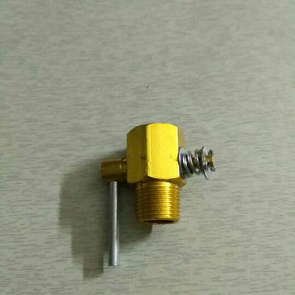 Кран головки слива охлаждающей жидкости R190, фото 2