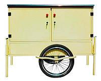 Велосипедный трейлер для уличной торговли