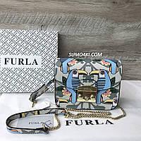 Женская кожная сумка-клатч Furla metropolis