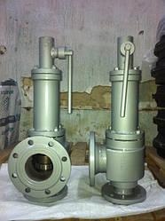 Клапаны предохранительные СППК4р, Ру-40 кгс/см2