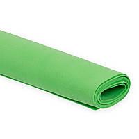 Фоамиран Эва Светло-зеленый 3 мм Турецкий 1x1.5 метра/лист
