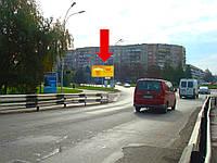 Щит г. Ужгород, Хмельницкого Б. пл. - ул. Л. Толстого, на клумбе, центр города, в сторону пр. Свободы