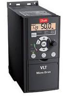 """Преобразователь частоты (частотник) ТМ """"Danfoss"""", VLT® Micro Drive,  1,5 кВт (однофазный)"""