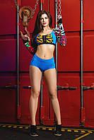 Трусы для Pole Dance P1 голубые