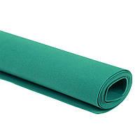 Фоамиран Эва Зеленый изумрудный 3 мм Турецкий 1x1.5 метра/лист