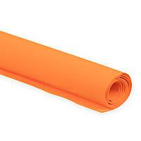 Фоамиран Эва Оранжевый 3 мм Турецкий 1x1.5 метра/лист