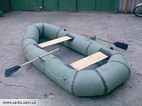 Лодка резиновая двухместная .