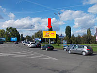 Призматрон г. Ужгород, Хмельницкого Б. пл. - ул. Л. Толстого, на клумбе, центр города, в сторону набережной