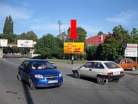 Щит г. Ужгород, Будителей ул. / ул. Анкудинова, в сторону вокзала