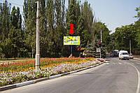 Щит г. Феодосия, Симферопольское шоссе / ул. Володарского / ул. Крымская, в центр, на светофоре
