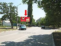 Щит г. Феодосия, Крымская ул. / ул. Московская, в центр, в сторону ул. Симферопольское шоссе