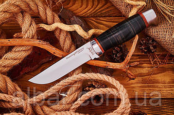 Нож охотничий 2288 LP (наборная кожа-рукоять)