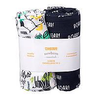 Муслиновые пеленки для новорожденных  (2 шт) 107 х 107 см