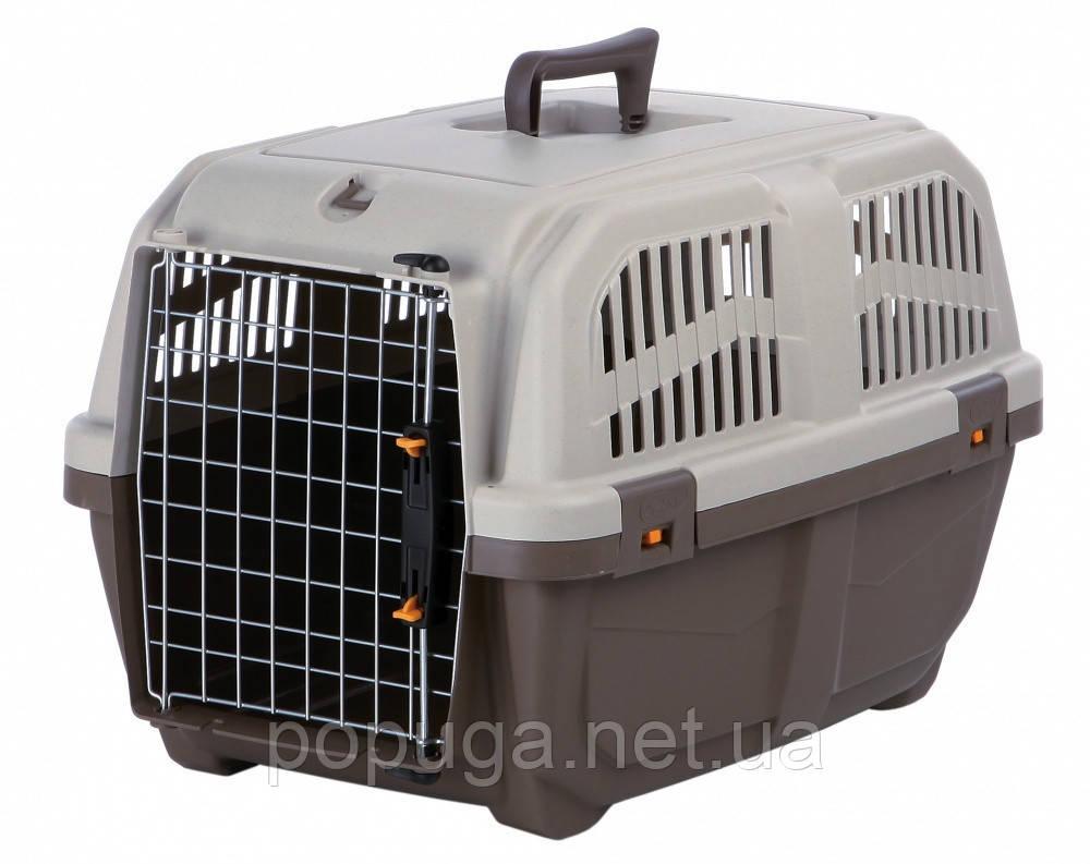 Переноска для собак и кошек Skudo 3 IATA, до 24 кг (60*40*39 см)