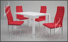 Столи і стільці MODERNO. Набір стіл + 4 крісла