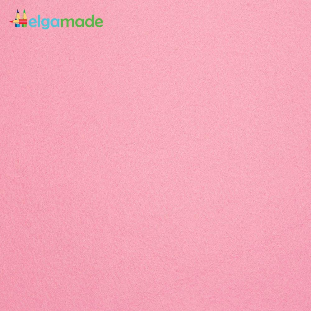 Фетр американский ПУДРА, 23x31 см, 1.3 мм, полушерстяной мягкий