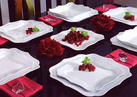 Сервиз столовый Luminarc AUTHENTIC white/X 19 предметов