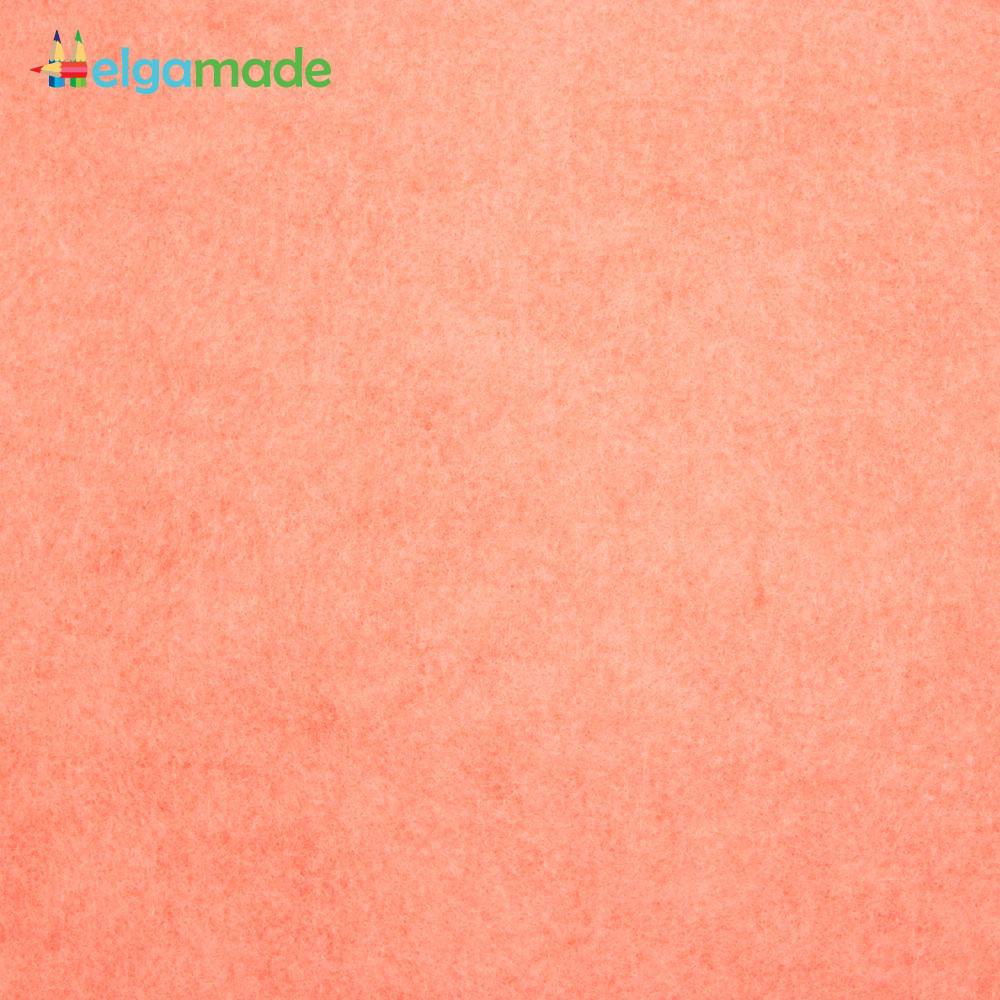 Фетр американский ГРУЗИНСКИЙ ПЕРСИК, 23x31 см, 1.3 мм, полушерстяной мягкий