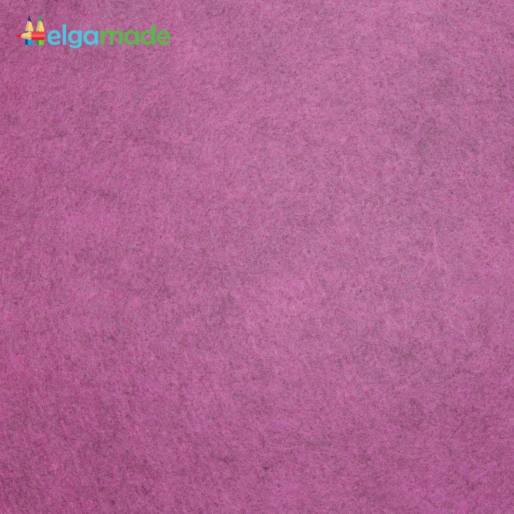 Фетр американский ГОРТЕНЗИЯ меланж, 23x31 см, 1.3 мм, полушерстяной мягкий