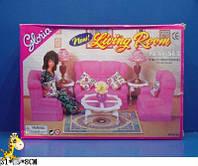 Набор мебели для кукол гостиная 9704 Поставляется в красочной коробке размером 31920см