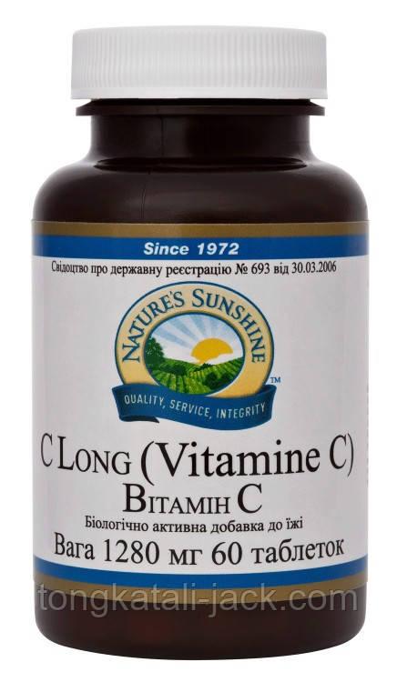 Вітамін C (Vitamin C (C Long)