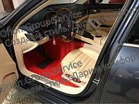 Коврики из эко кожи  Порше Porsche Cayenne 911 Cayman Panamera Macan 3D + оригинал клипсы