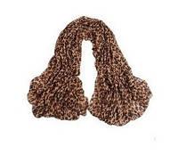 Шарф - платок леопардовый принт
