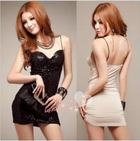 Эффектное мини платье из лайкры размер 42-44