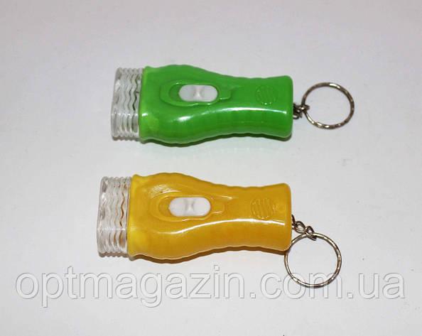 Ліхтарик на батарейці з 2-ма лампами, фото 2