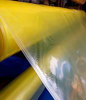 Пленка тепличная на метраж 100 мкм, 6м ширина, уф-стабилизация 12 месяцев ,(желтая).