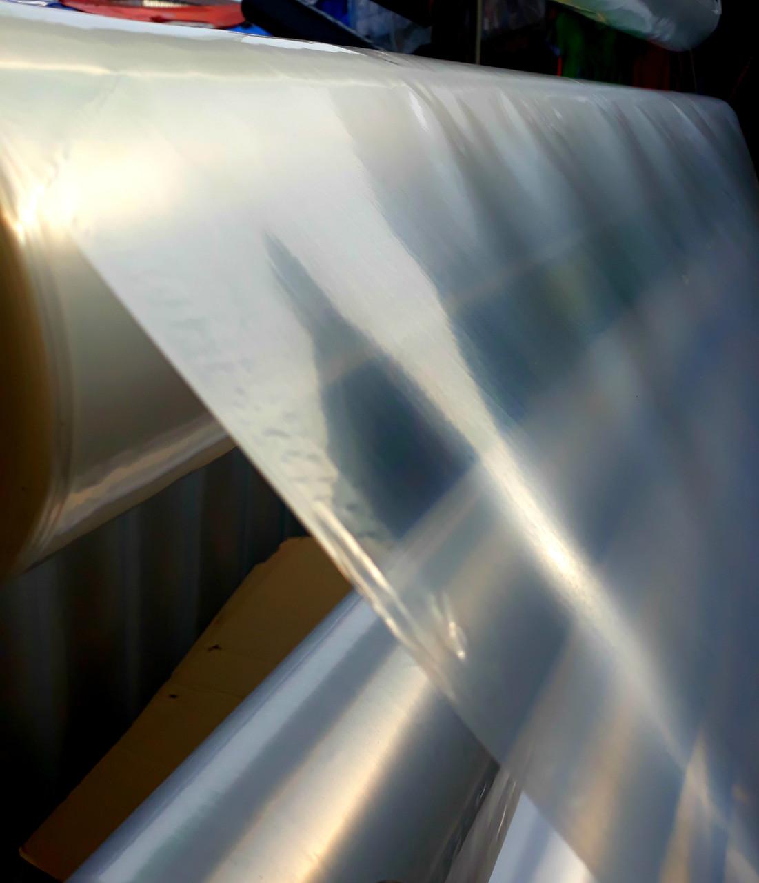 Пленка парниковая на метраж, 100 мкм, 3м ширина, белая (прозрачная).