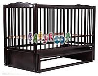 Кровать Babyroom Веселка маятник DVM-1  бук венге, фото 1