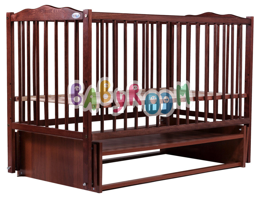 Кровать Babyroom Веселка маятник DVM-1  бук тик