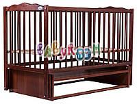 Кровать Babyroom Веселка маятник DVM-1  бук тик, фото 1