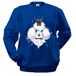 Свитшот с пуделем в короне (1)
