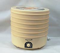 Сушилка для грибов, овощей и фруктов Vilgrand VDF 520-20(520Вт, диаметр лотков 39 см)